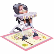 Happi Woodland Girl High Chair Decorating Kits 6 ct
