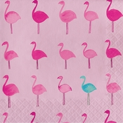 Tropical Flamingo Luncheon Napkins 192 ct