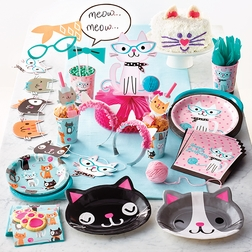 Cat Party Supplies