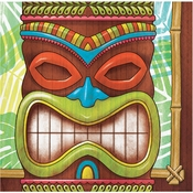 Tiki Time Beverage Napkins 192 ct