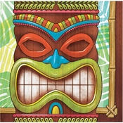 Tiki Time Beverage Napkins 1200 ct