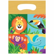 Jungle Safari Favor Bags 96 ct