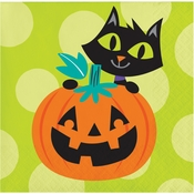 Friends of Halloween Beverage Napkins 192 ct