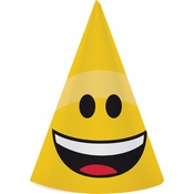 Show Your Emojions Party Hats 48 ct