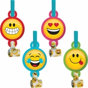 Show Your Emojions Party Blowers 48 ct