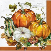 Bountiful Cornucopia Beverage Napkins 192 ct