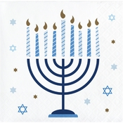Hanukkah Celebration Beverage Napkins 192 ct