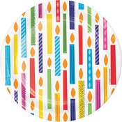 Bright Birthday Dessert Plates 96 ct