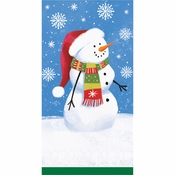 Smiling Snowmen Guest Towels 192 ct