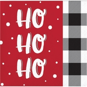 Santa Fun Beverage Napkins 192 ct