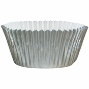 """Silver Foil Baking Cups - 4.5"""" 2,000 ct."""