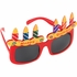 Birthday Cake Glasses 12 ct