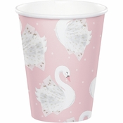 Stylish Swan 9 oz Paper Cups 96 ct