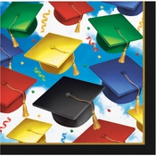Graduation Celebration Beverage Napkins 192 ct