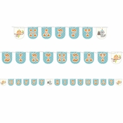 Happi Woodland Boy Ribbon Banners 6 ct