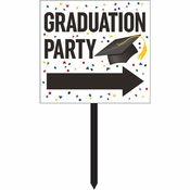 Graduation Yard Signs 6 ct