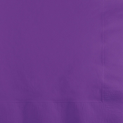Amethyst Purple 2 Ply Beverage Napkins 600 ct