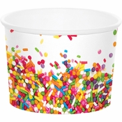 Confetti Sprinkles Treat Cups 72 ct