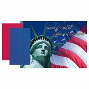 Patriotic Paper Placemat and Napkin Combo Pack 500 ct