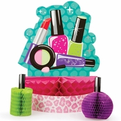 Sparkle Spa Party Centerpiece Sets 6 ct