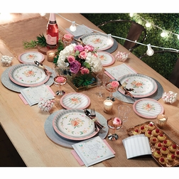 Country Floral Wedding Party Supplies
