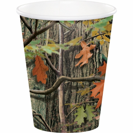 Hunting Camo Cups 96 ct