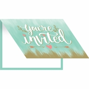 Mint to Be Invitations 48 ct