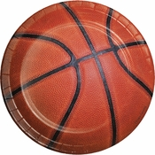 Basketball Dessert Plates 96 ct