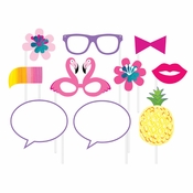 Pineapple Party Photo Booth Props 60 ct