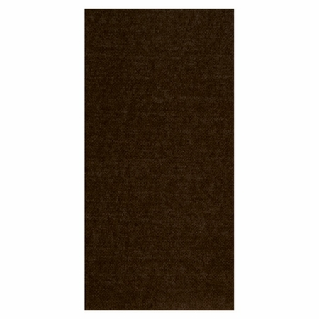 FashnPoint Chocolate Brown Dinner Napkins 1/8 Fold in quantities of 100 / pkg, 8 pkgs / case