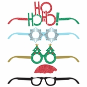 Christmas Deluxe Paper Eyeglasses 24 ct