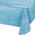 Opalescent Pastel Blue Metallic Tablecloths 12 ct