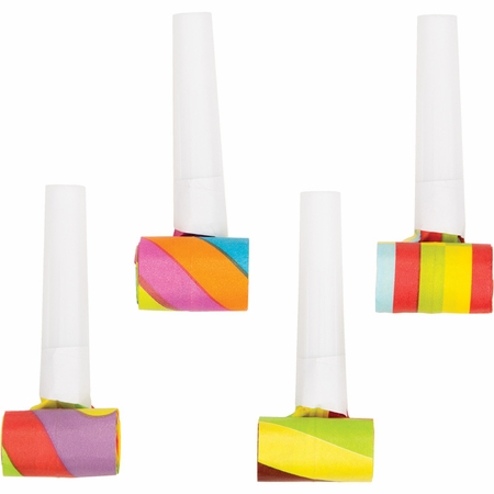 Assorted Party Blowers 48 ct