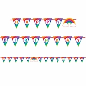 Rainbow Banners 6 ct