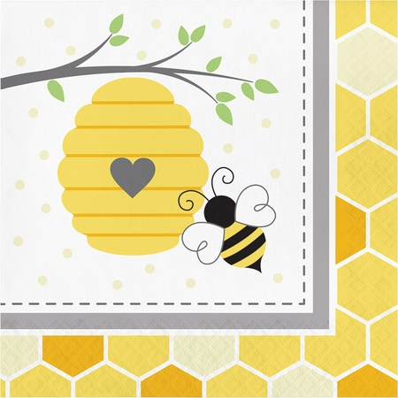 Bumblebee Baby Shower Luncheon Napkins 192 ct