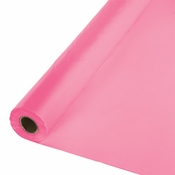Touch of Color Candy Pink Banquet Table Roll in quantities of 1 / pkg, 1 pkg / case