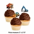 Big Dig Construction Cupcake Toppers 144 ct