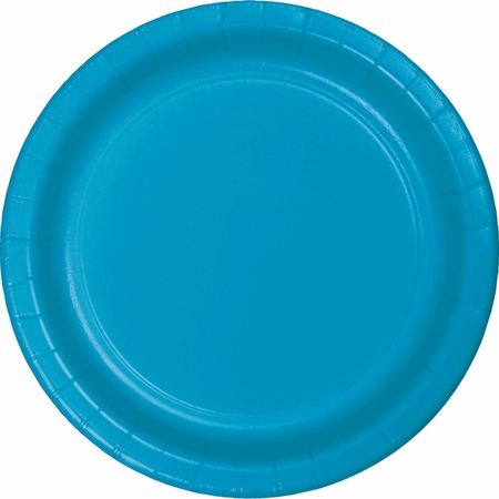Turquoise Blue Dinner Plates 240 ct
