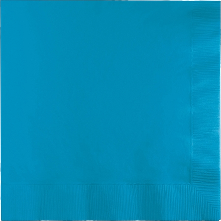 Turquoise Dinner Napkins 3 Ply 250 ct