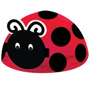 Ladybug Fancy Centerpieces 6 ct