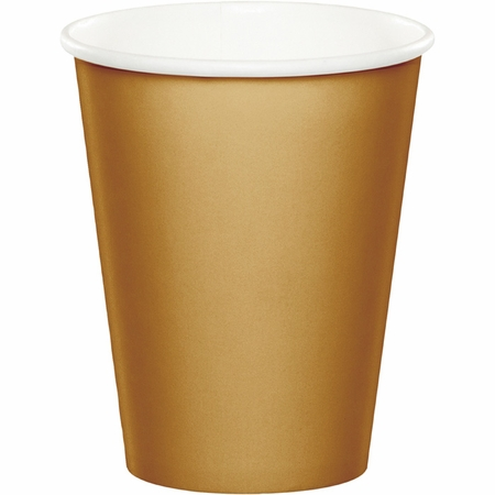 Value Friendly Glittering Gold Cups 96 ct