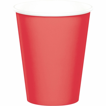 Coral Cups 9 oz