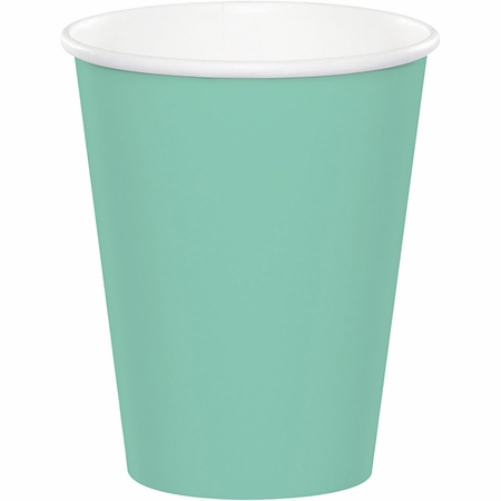 Fresh Mint Green 9 oz Hot & Cold Cups 96 ct