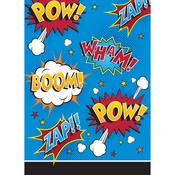 Superhero Slogans Favor Bags 96 ct