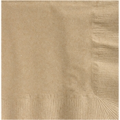 Earth Wise Kraft Beverage Napkins 3,000 ct