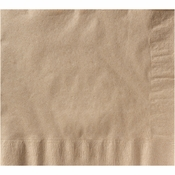 Earth Wise Kraft Dinner Napkins 1/4 Fold 1,200 ct