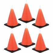 Construction Cone Candles 72 ct