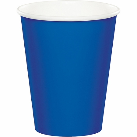 Cobalt Blue 9 oz Hot & Cold Cups 96 ct