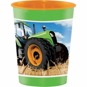 Tractor Time Keepsake Cups 12 ct
