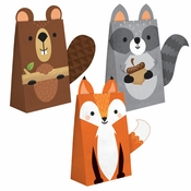 Wild One Woodland Paper Treat Bags 96 ct
